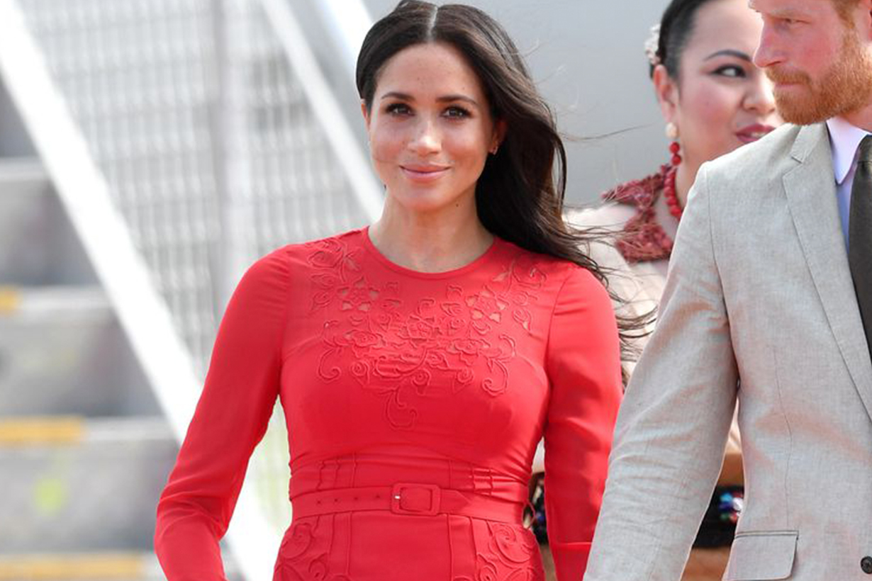 Meghan Markle Left the tag on her dress