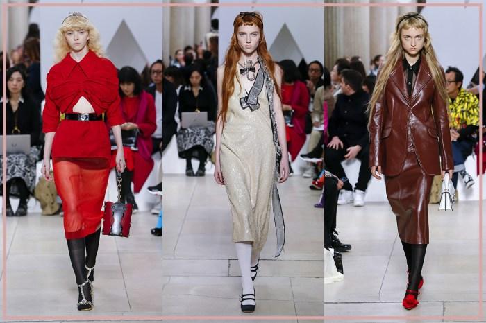 #PFW:看到千禧世代的 Miu Miu 女孩,也想來一打閃亮亮的連身裙和瑪麗珍鞋!