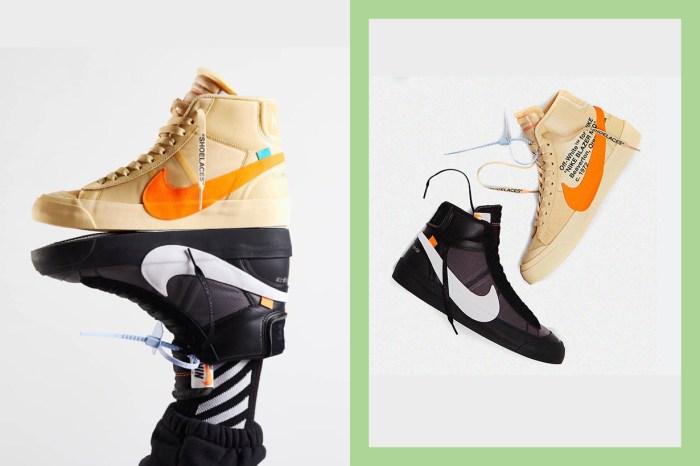 男生請羨慕,Off-White x Nike 這雙超熱門 Blazer Mid「女段限定」即將開賣!