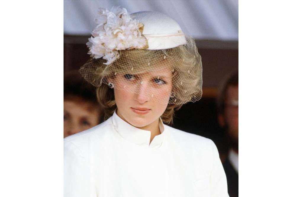 Princess Diana Veiled Hat