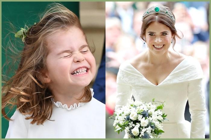 夏洛特公主逗得眾人大笑!尤金妮公主在 Instagram 分享婚禮的最甜蜜一刻