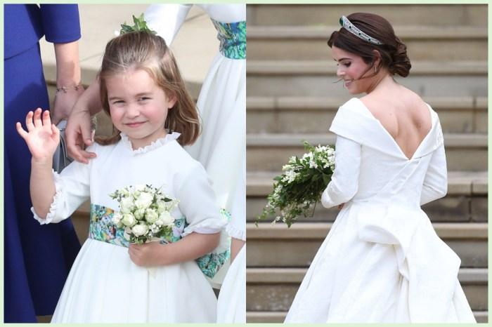 尤金妮公主婚禮你沒注意的 12 件小事!夏洛特公主被讚是「凱特王妃 2.0」?