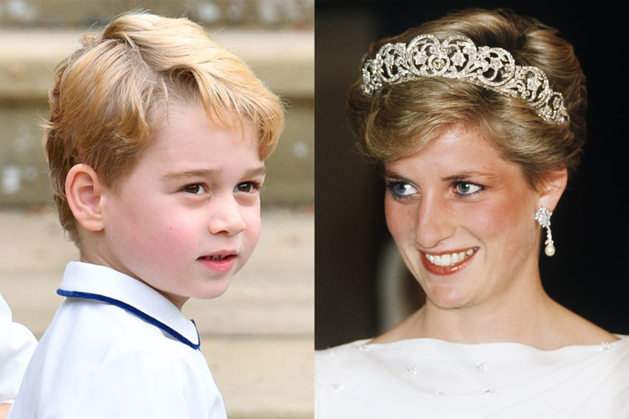 Prince George takes after late grandmother Princess Diana