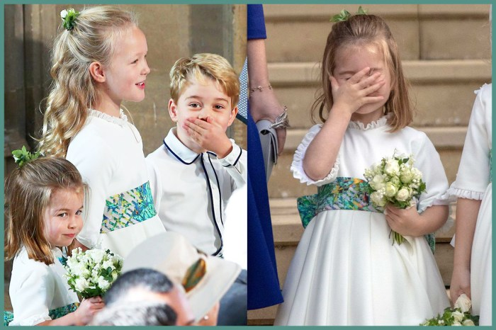 果然是皇室的「鬼靈精」小孩!喬治王子的表姐竟這樣作弄 Princess Eugenie?