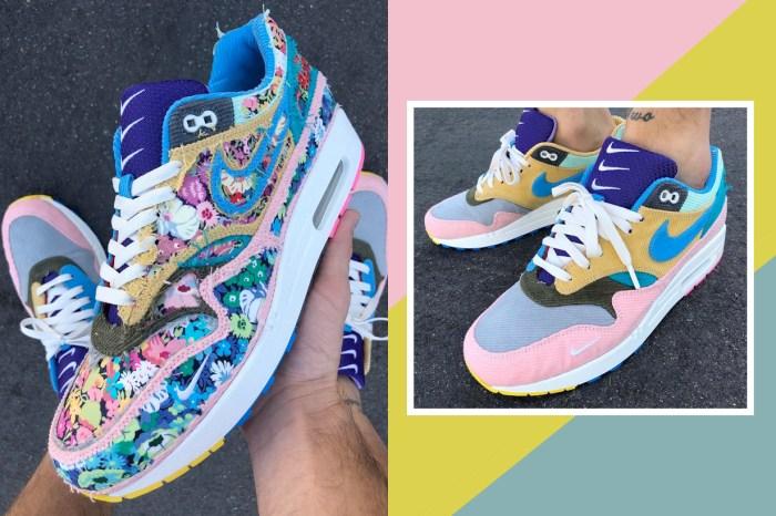 一款鞋可以變身 2 種模樣,千萬不要小看這雙粉彩拼色波鞋!