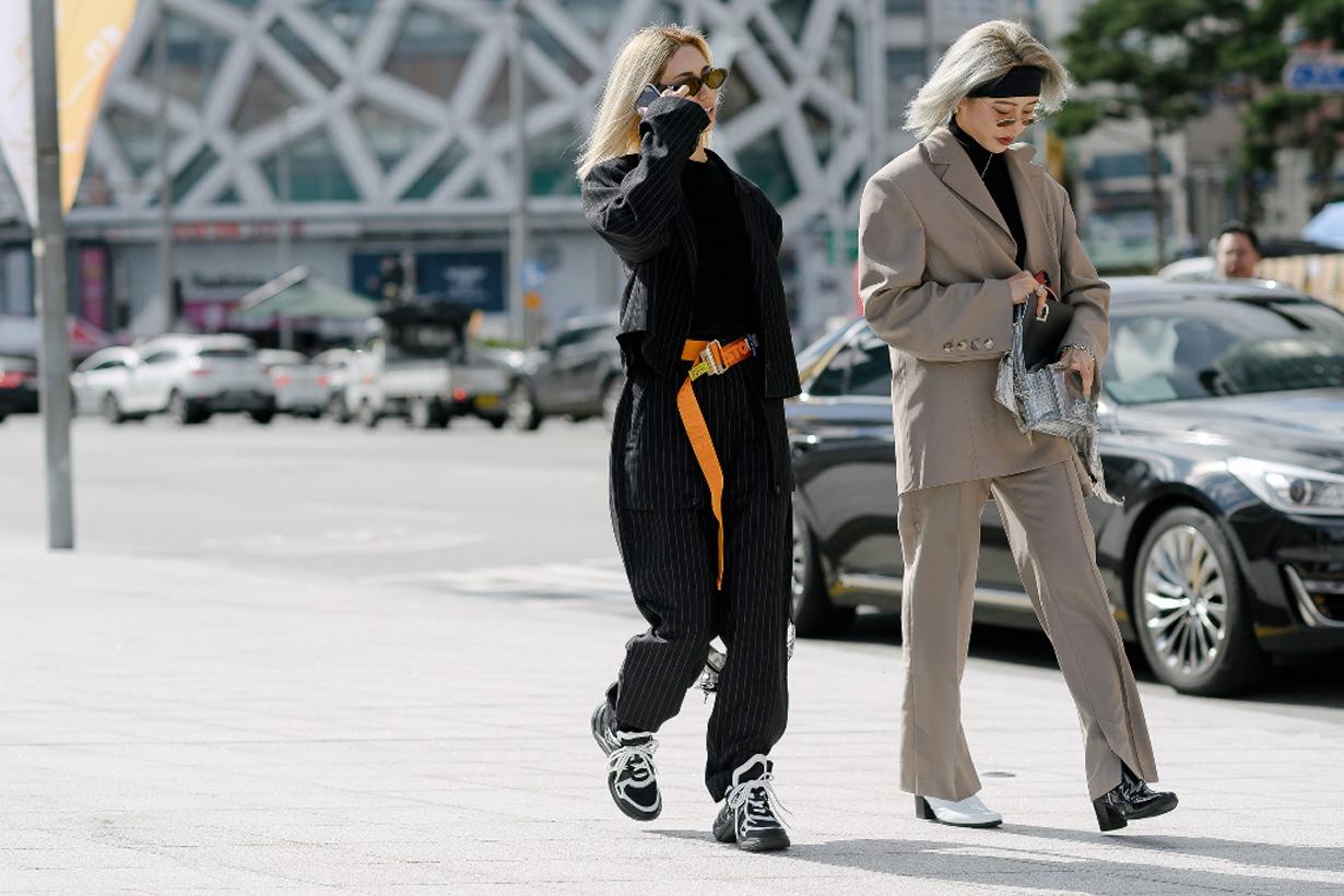 seoul fashion week street snap 2018 fw