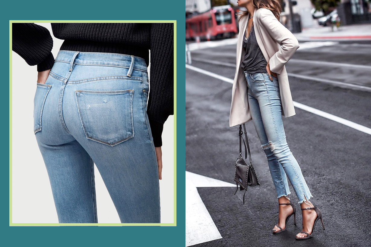 skinny jeans best how to pick fabric key point