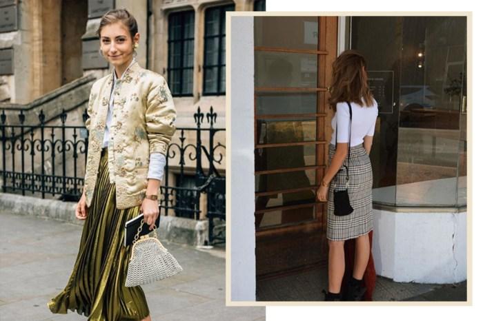 正苦惱怎樣配襯新買的半截裙?街拍女生竟不約而同都認定這款鞋!