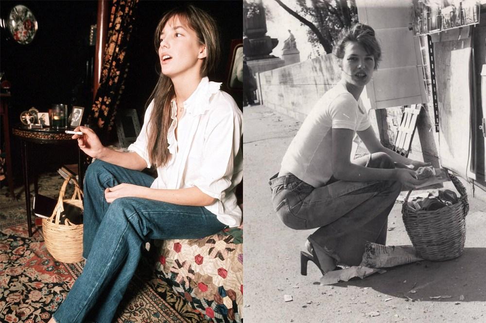 Jane Birkin Tee and Jeans