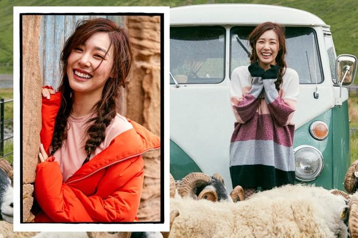 少女時代成員 Tiffany 甜笑超治癒!飛赴蘇格蘭演繹 H&M 新系列