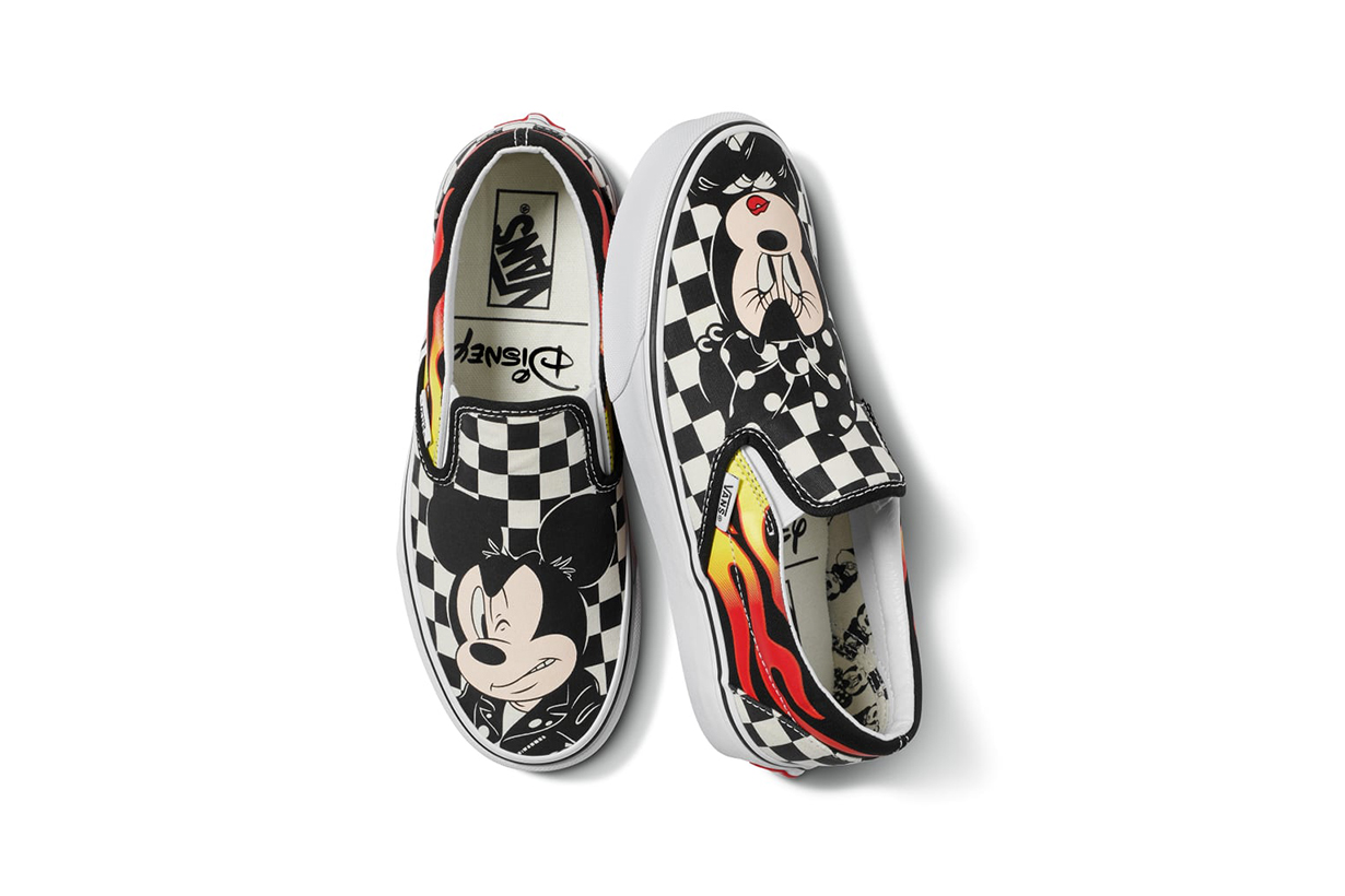 Vans X Disney crossover collection 2018