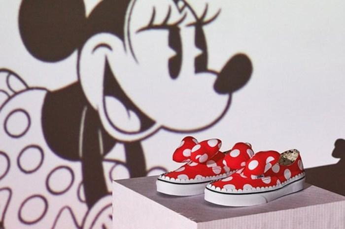 就算不是「米妮」粉絲,也想試穿這雙 Vans X Disney 波點鞋!