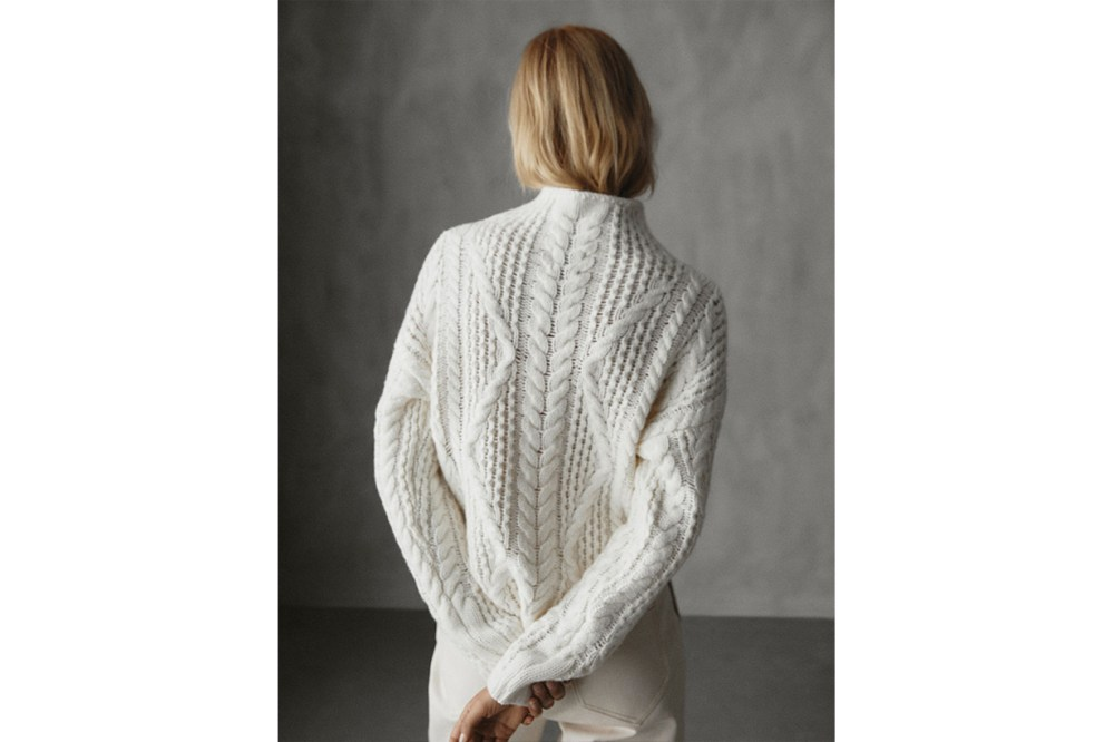 Winter Capsule Cable Knit Sweater