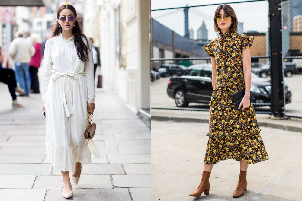 All White VS Floral Dress