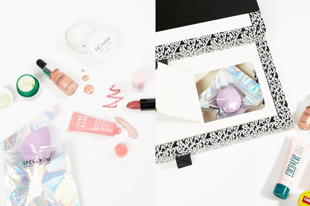 ASOS Face and Body Advent Calendar Beauty skincare products Bobbi Brown Clinique Benefit Caudalie Glamglow Christmas gift