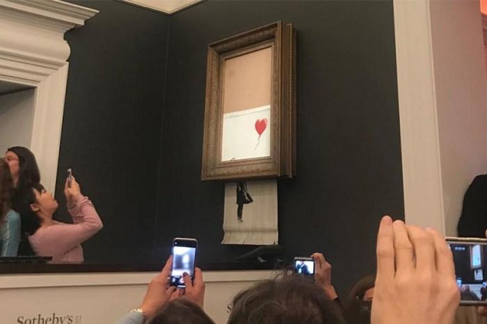 原本不止碎一半!Banksy 親自把拍賣會當日真相還原!