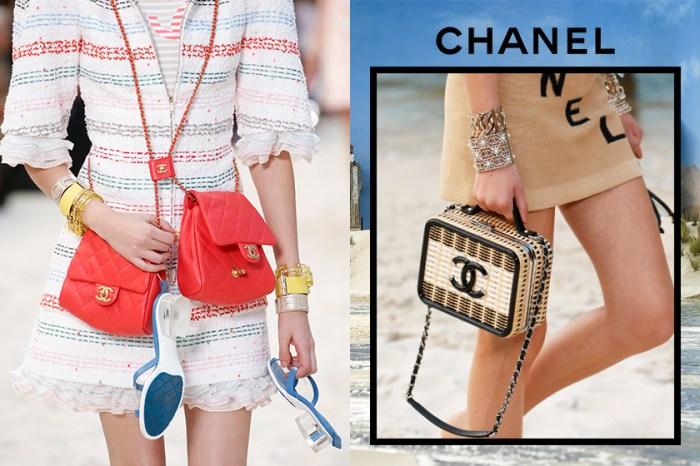 #PFW:Chanel 帶你到海邊來一趟時尚小旅行,近賞最新手袋及鞋履系列!