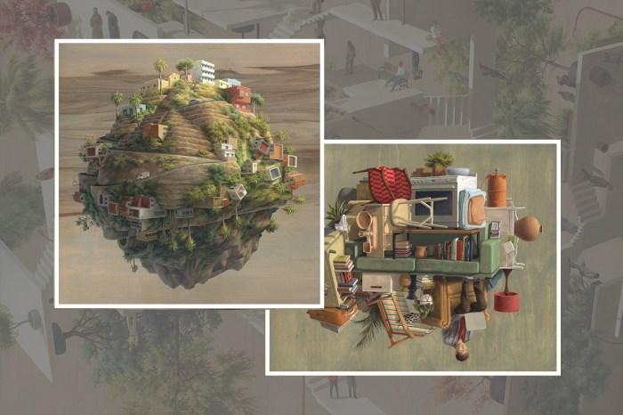 Cinta Vidal 「 ViewPoints 視角」藝術展,人生不只有一面,而是 360 度全面。