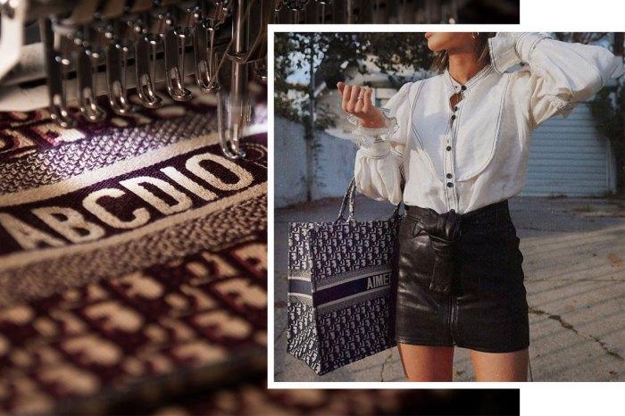 期間限定!Dior 推出 Book Tote 手袋名字刺繡服務