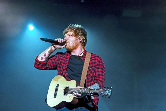 超價超過一千元!Ed Sheeran 竟然拿出有穿過痕跡的內褲來拍賣!