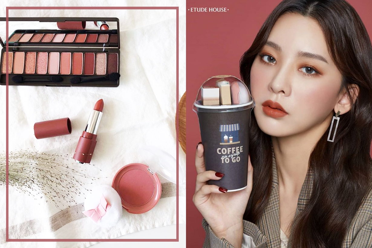 Etude House Coffee To Go No Syrup Limited Edition Eyeshadow Palette Lipstick Blusher K Beauty Korean cosmetics