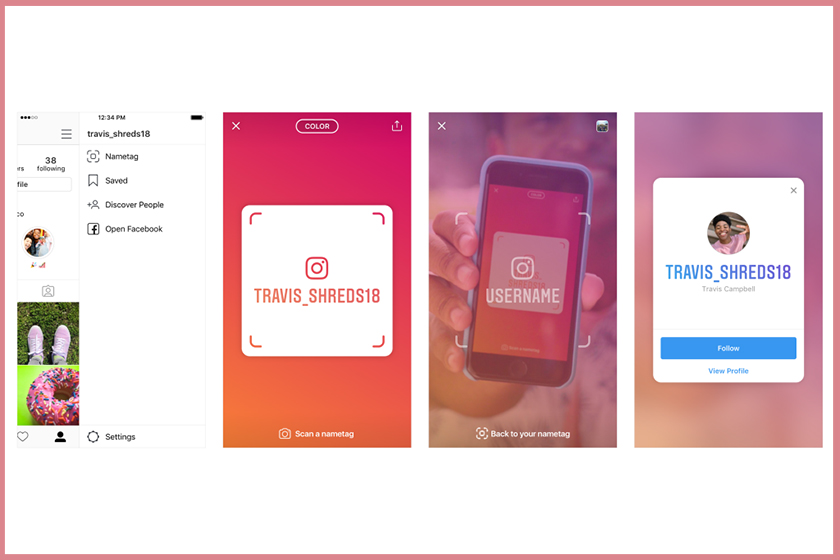 instagram nametage feature new ways to connect with friends