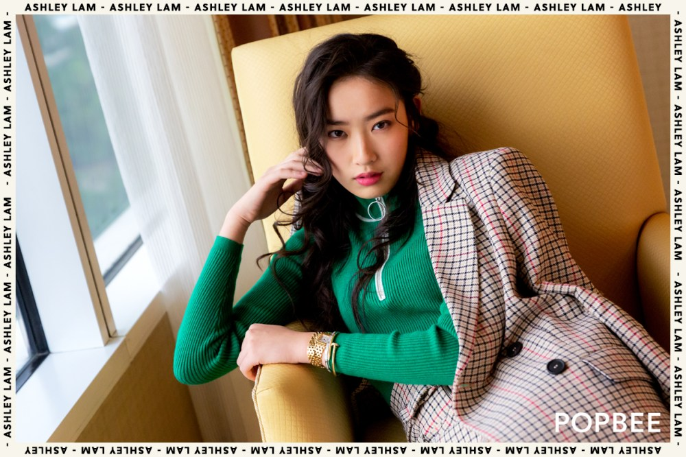Ashley Lam Kae Ning daughter of kung chi yan lin wei second generation of celebrities hong kong model actress singer talented Hong Kong University  Department of Architecture