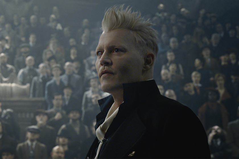 johnny depp interview fantastic beasts 2 Grindelwald
