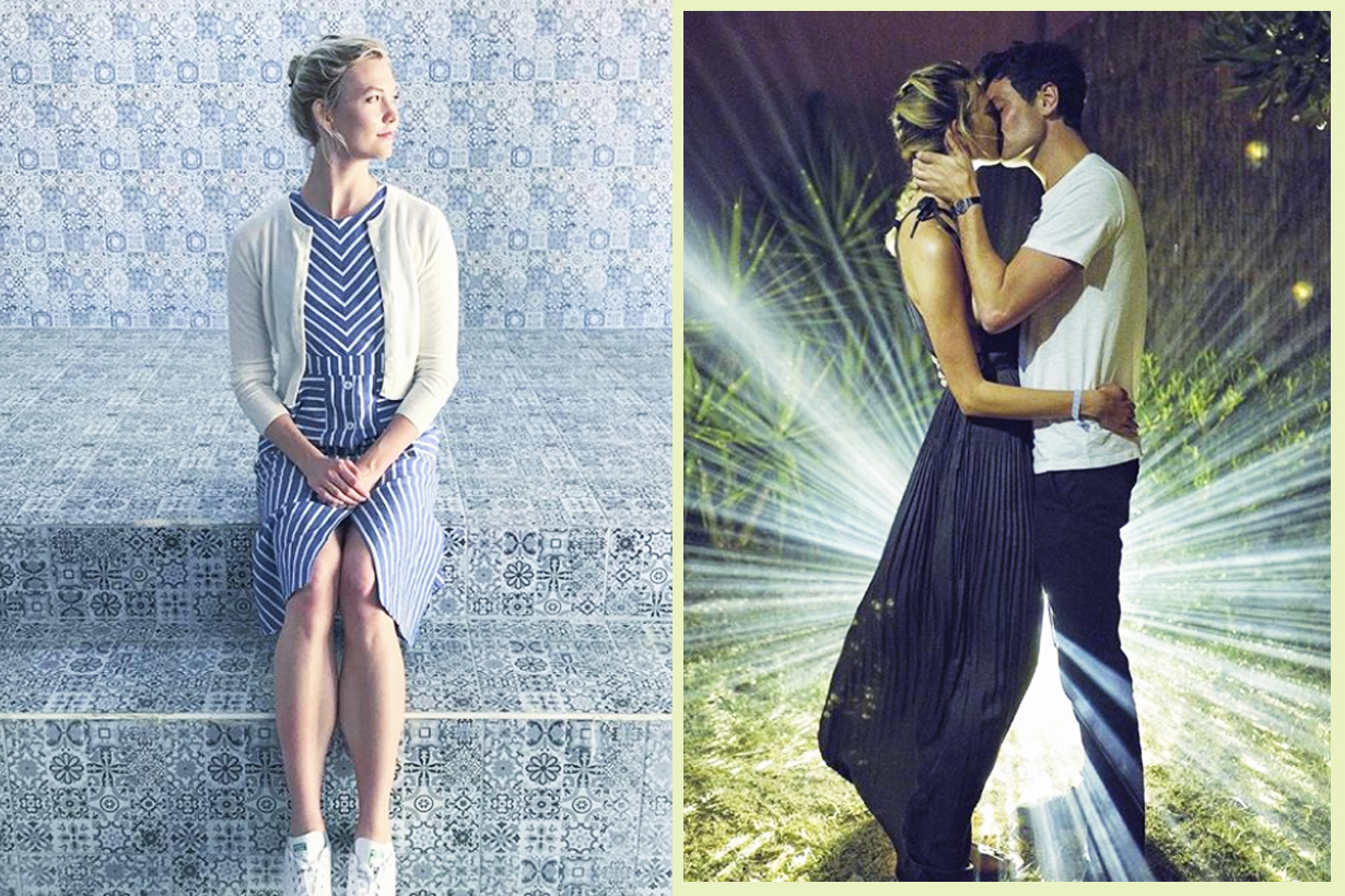 Karlie Kloss Joshua Kushner Married Wedding Secret Photo Dior wedding Gown I married my best friend celebrities Couples