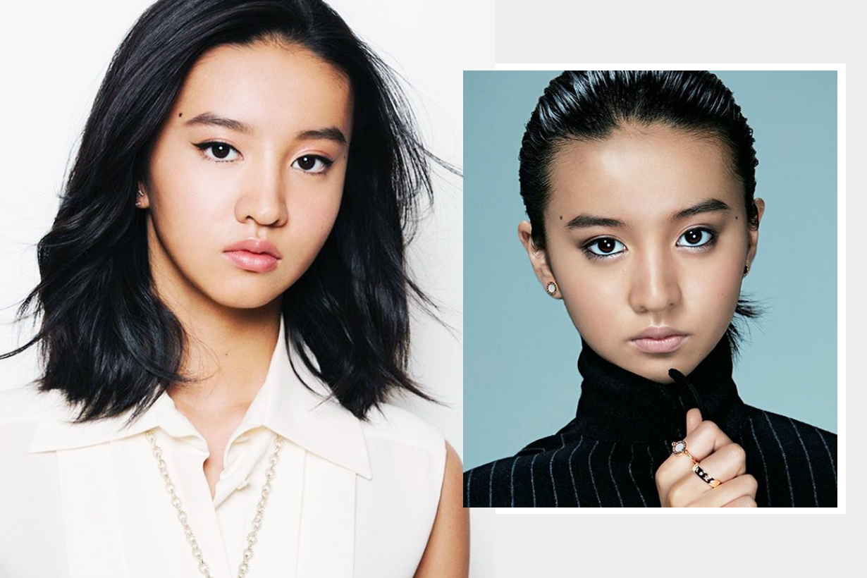 Koki Chanel Body Mainte Advertising endorsement second generation of celebrities japanese model