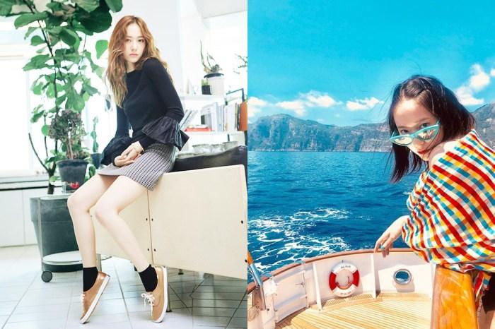 網民:樣子沒變呢!Krystal 鄭秀晶 24 歲生日,公開 17 年前童年照慶祝!