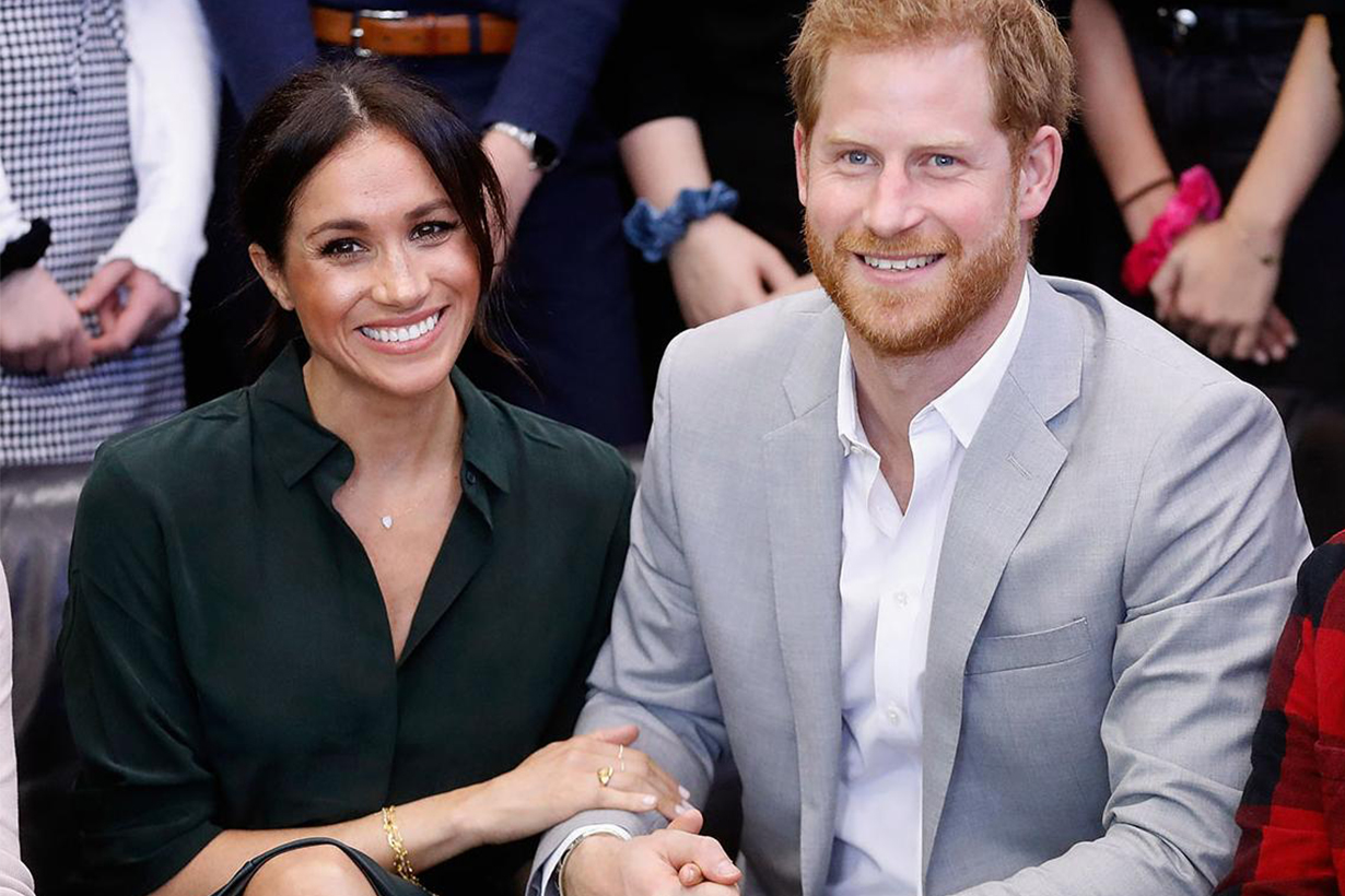 Meghan Markle Prince Harry The Duke Duchess of Sussex Royal Baby Kensington Palace British Royal family