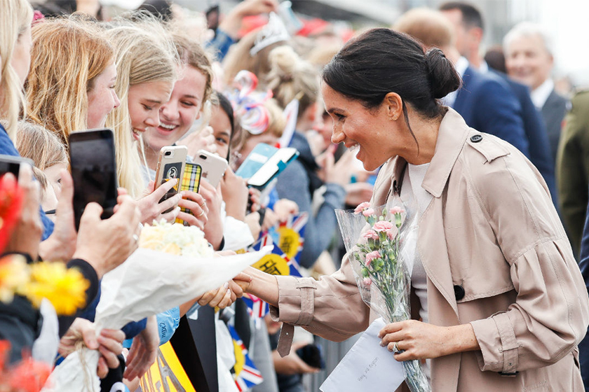 meghan markle royal tour new zealand prince harry instagram video
