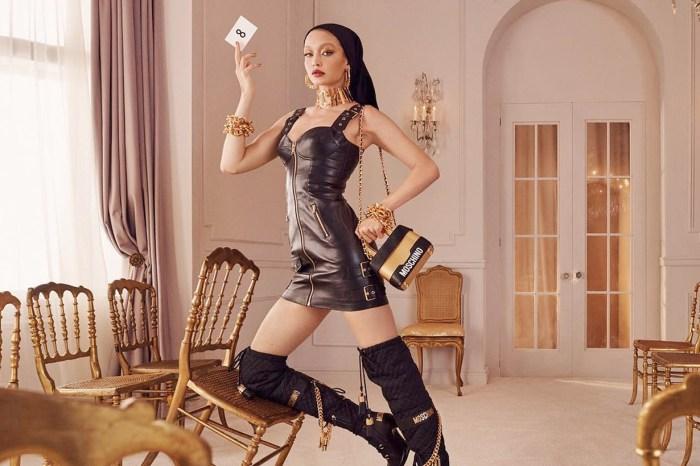 H&M x Moschino 首批形象照釋出,下個月開賣手袋絕對搶翻天!