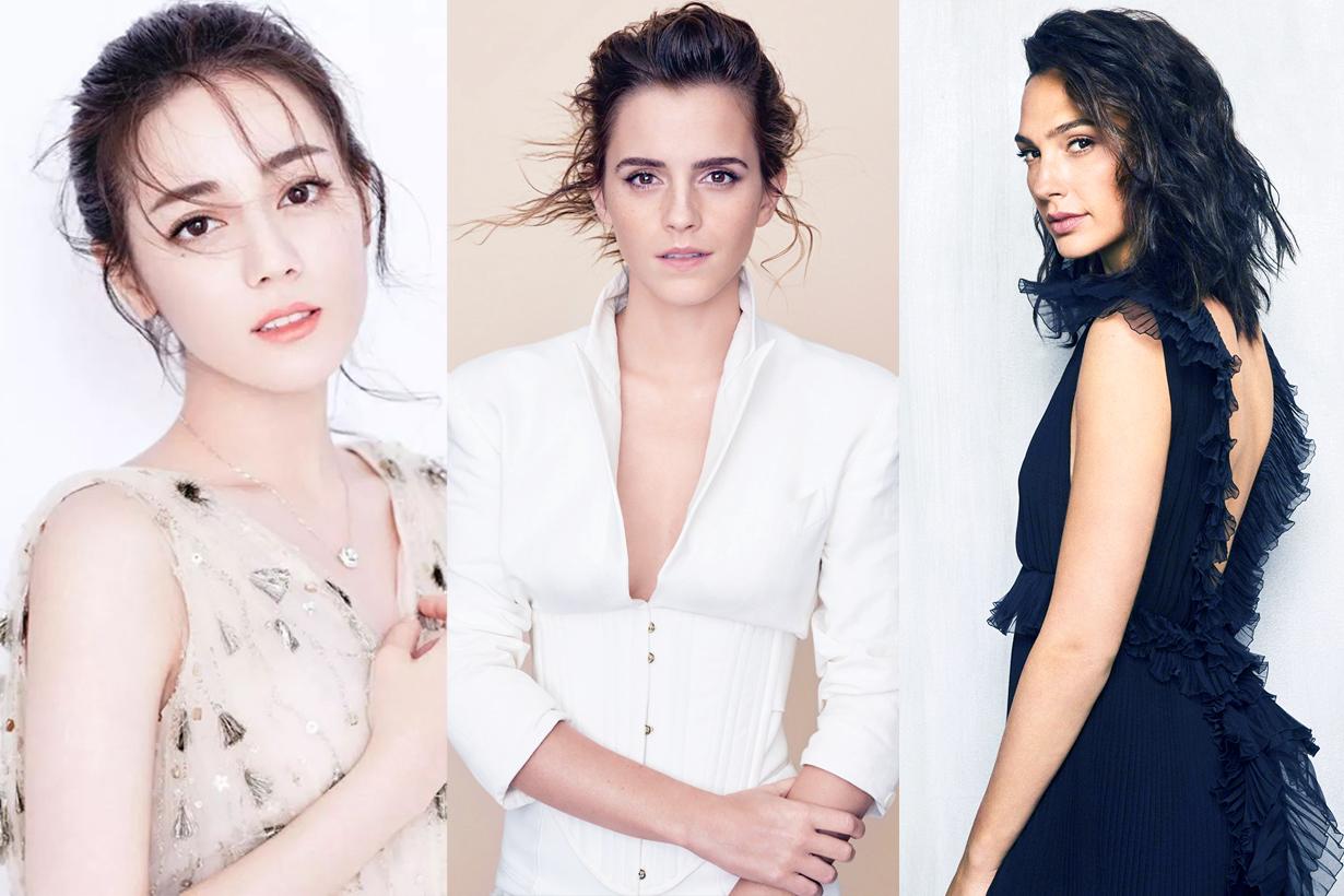 Song Hye Kyo Jun Ji Hyun Aragaki Yui Dilraba Dilmurat Jisoo Lisa Blackpink Chou Tzuyu Twice Mina Emma Watson Taylor Swift MOMOLAND Nancy Most Beautiful women