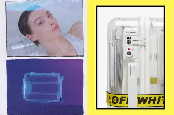 Off-White x Rimowa 透明行李箱又來了!今次的新配色跟透明更相襯!