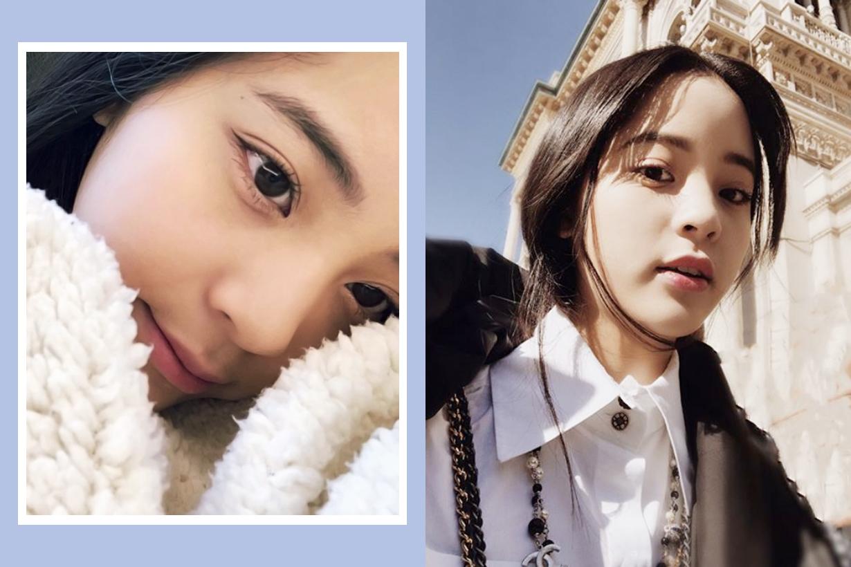 Ouyang Nana pimples acne remedies dermaagnel acne stickers thursday plantation tea tree medicated gel xiaohongshu