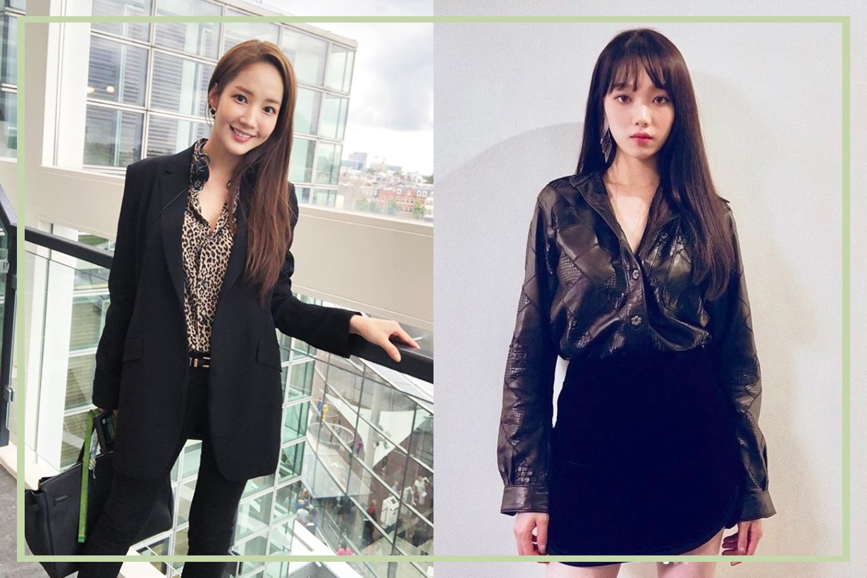 Secretary Kim Park Min Young Lee Sung Kyung Girls Generation SeoHyun Johnny Hates Jazz Pink wrap dress