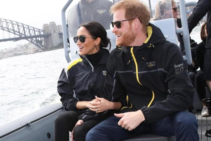 是誰夠膽把哈里王子整個人抱起?哈里梅根出訪澳州竟然上演這搞笑一幕!