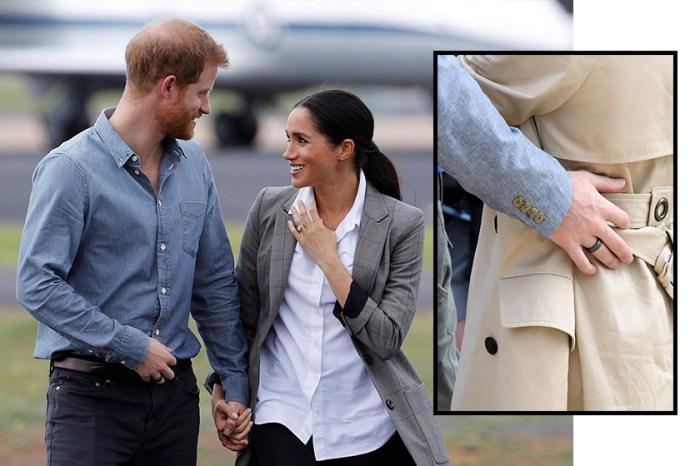 哈里王子手上出現的神秘戒指,竟然跟他的健康有關?