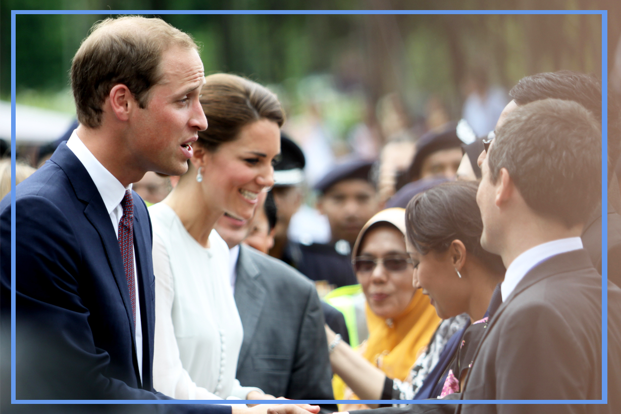 Princess Anne Daughter of Queen Elizabeth II Documentary Queen of the World shaking hands british royal family