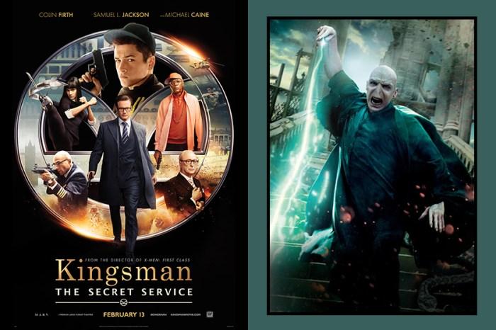 魔法迷沒想過吧!「佛地魔」將會加入《Kingsman》,成為皇家特工!