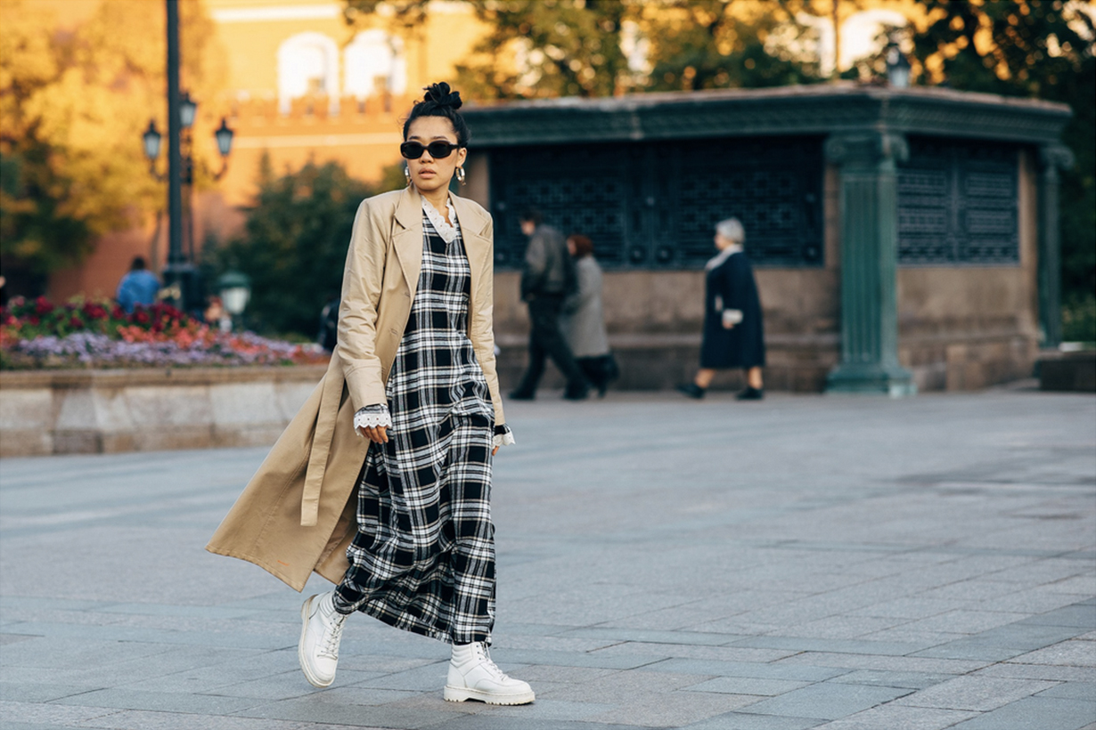 russia fashion week streetsnap 2018 fall winter