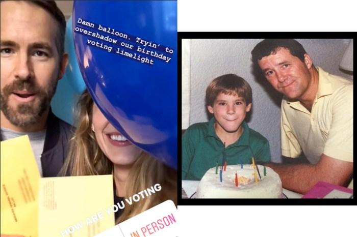 逗趣一家!「死侍」生日,老婆 Blake Lively 責罵藍色氣球,父親也當面耍嘴炮