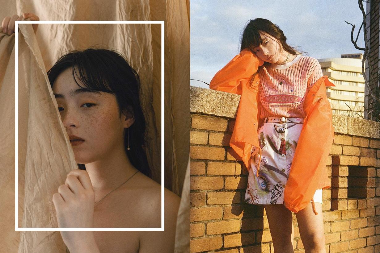 Serena Motola japanese model actress it girl unusual beauty