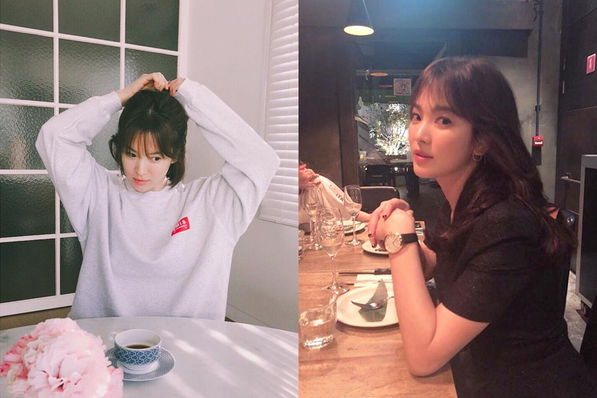 Song Hye Kyo Park Bo Gum Korean Drama K drama Boyfriend styles Hairstyles Korean Celebrities Idols