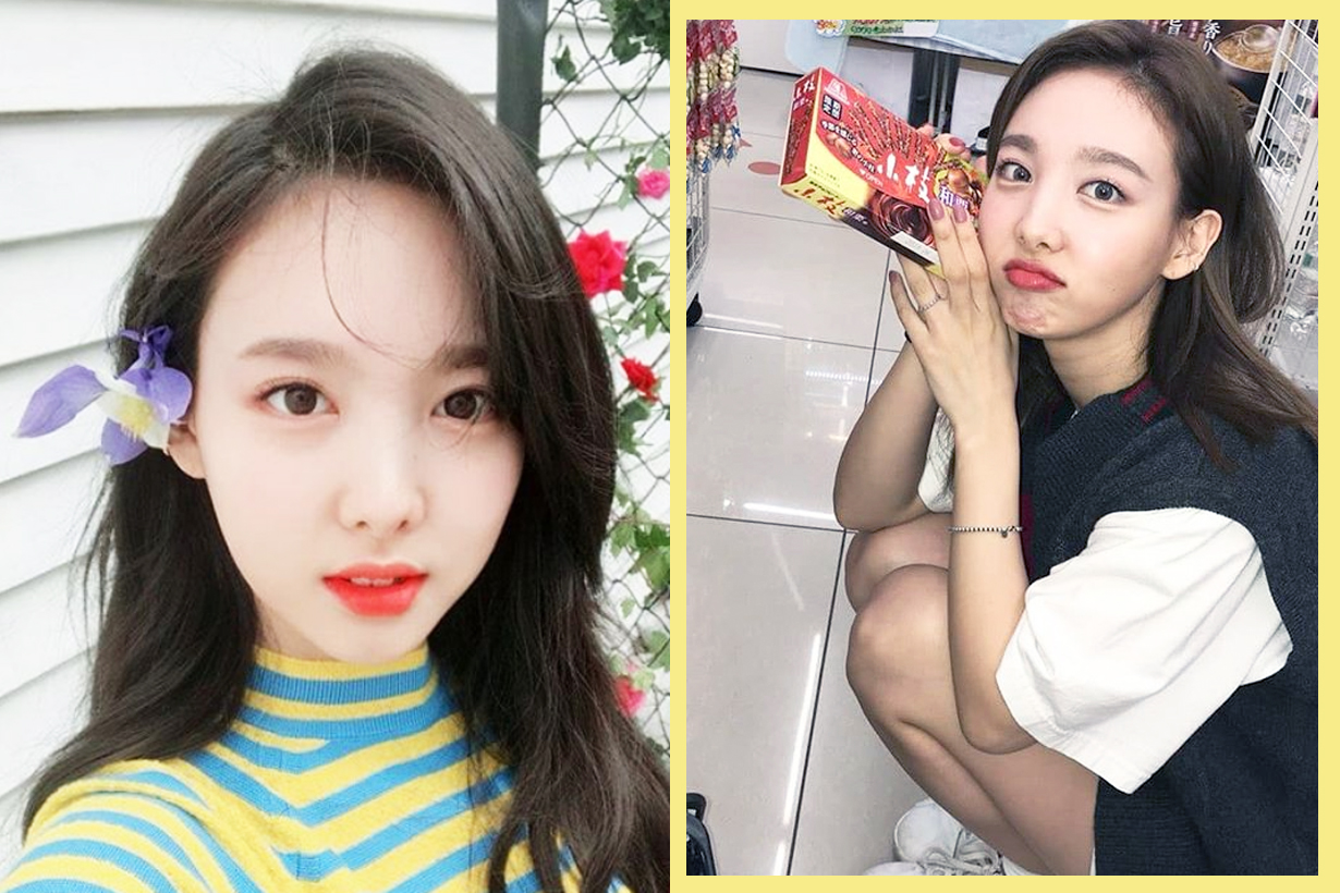 Twice Im Na Yeon Nayeon Yoo Gyeong-Wan Momo twice live chat fans comment Haters Keep Fit Lose Weight Self Confidence EQ K Pop Korean Idols celebrities