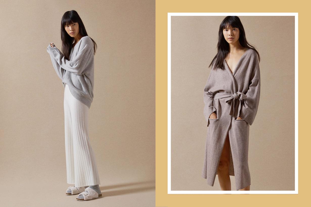 zara home loungewear knit cozy simple classic fall trend