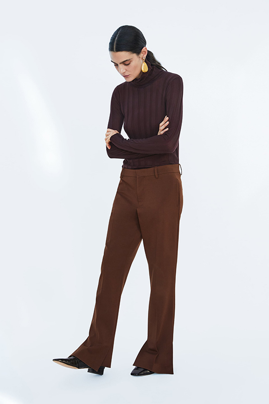 ZARA timeless brown items for autumn