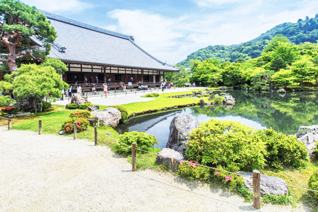 Travel to Kyoto!